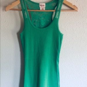Mission Supply Co. racerback tank top. NWOT